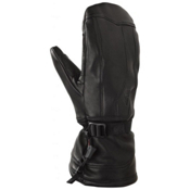 Gordini All Mountain Leather Touch Screen Mittens, Black, medium