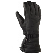 Gordini All Mountain Leather Gloves, Black, medium