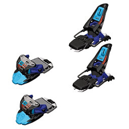 Marker Squire Ski Bindings, Black-Blue-White, 256