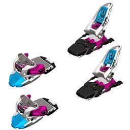 Marker Squire Ski Bindings, White-Black-Magenta, 256