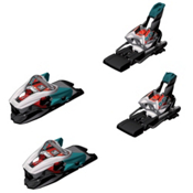 Marker Xcell 16.0 Ski Bindings, White-Black-Teal, medium
