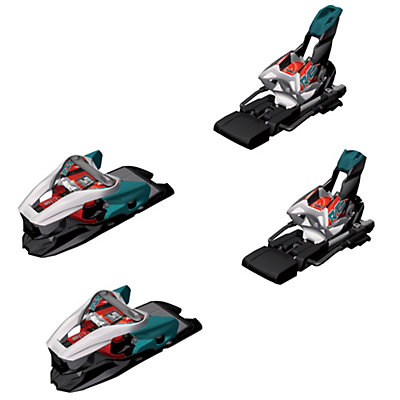 Marker Xcell 16.0 Ski Bindings, White-Black-Teal, viewer