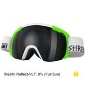 SHRED Smartefy Goggles 2015, Bro-Stealth Reflect, medium