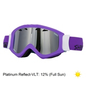 SHRED Soaza Goggles, Gaper-Platinum Reflect, medium