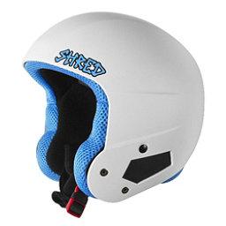 SHRED Brain Bucket Helmet, Whitey, 256