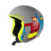 SHRED Brain Bucket Helmet, Robot Boogie, medium