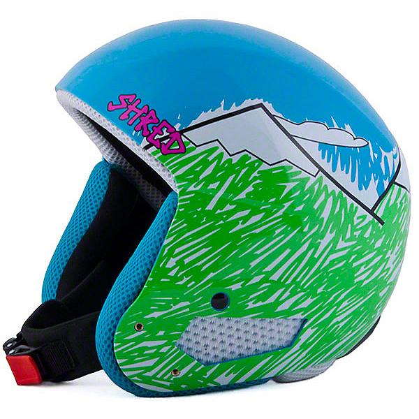 SHRED Mega Brain Bucket Helmet, Needmoresnow, 600
