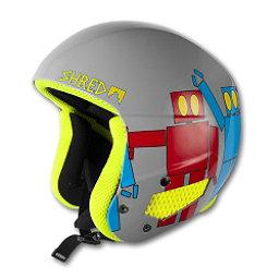 SHRED Mega Brain Bucket Helmet, Robot Boogie, 256
