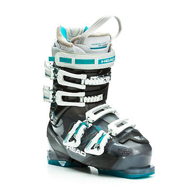 Head Adapt Edge 90 W Womens Ski Boots, Transparent Anthracite-Black, viewer