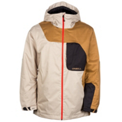 O'Neill David Wise Mens Insulated Ski Jacket, Chino Beige, medium
