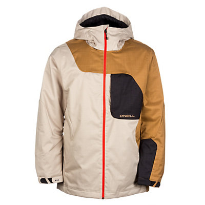 O'Neill David Wise Mens Insulated Ski Jacket, Chino Beige, viewer