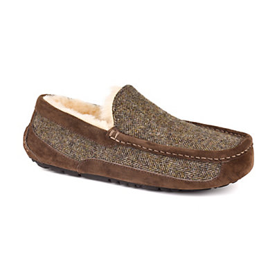 UGG Ascot Tweed Mens Slippers, Stout, viewer