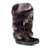 Tecnica Yaghi 3 Fur Womens Boots, Black, medium