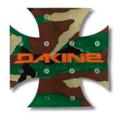 Dakine X Mat Stomp Pad, Camo, medium