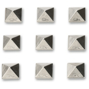 Dakine Pyramid Studs Stomp Pad 2017, Chrome, medium