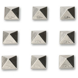 Dakine Pyramid Studs Stomp Pad 2017, Chrome, 256
