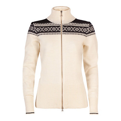 Dale Of Norway Hemsedal Womens Sweater, Off White-Navy, viewer