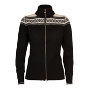 Dale Of Norway Hemsedal Womens Sweater, Black-Off White, medium