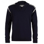 Dale Of Norway Alpina Masculine Mens Sweater, Navy-Cream, medium