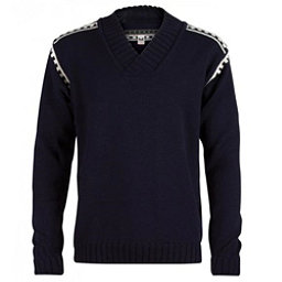 Dale Of Norway Alpina Masculine Mens Sweater, Navy-Cream, 256