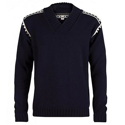 Dale Of Norway Alpina Masculine Mens Sweater, Navy-Cream, viewer