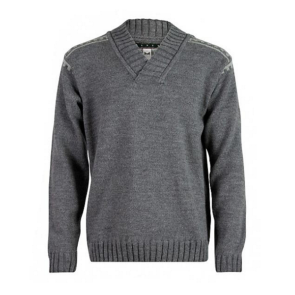 Dale Of Norway Alpina Masculine Mens Sweater, Smoke-Light Charcoal, 600