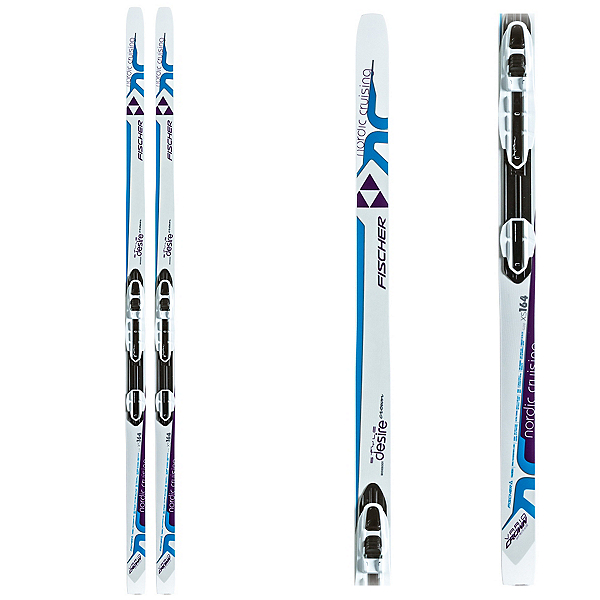 Fischer Desire My Style Womens Cross Country Skis with Bindings 2017, , 600
