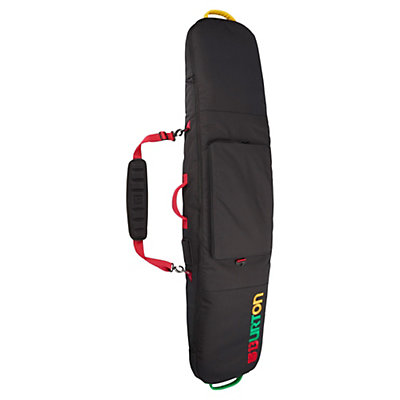 Burton Gig 166 Snowboard Bag 2017, Rasta, viewer