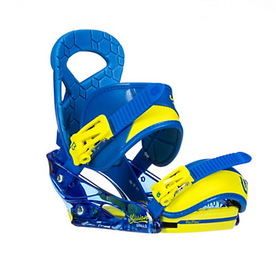 Burton Mission Smalls Kids Snowboard Bindings, Next Level Blue, viewer