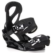 Burton Stiletto Womens Snowboard Bindings 2016, Black-White, medium