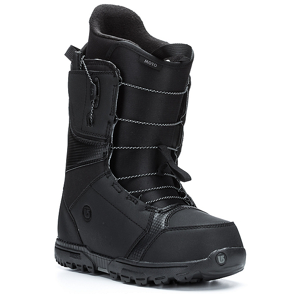 Burton Moto Snowboard Boots, Black, 600
