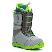 Burton Moto Snowboard Boots, Gray-Green, medium