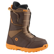 Burton Moto Snowboard Boots, Brown-Orange, medium