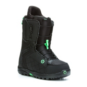 Burton Mint Womens Snowboard Boots, Black-Mint, medium