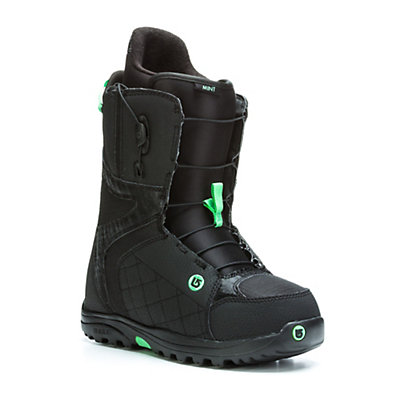 Burton Mint Womens Snowboard Boots, Black-Mint, viewer