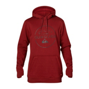 Quiksilver Ultility Corps Fleece Hoodie, Syrah, medium