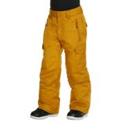 Quiksilver Porter Kids Snowboard Pants, Sudan Brown, medium