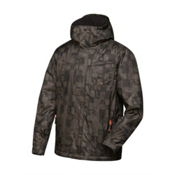 Quiksilver  Mens Insulated Snowboard Jacket, Winter Moss, medium