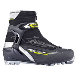 Fischer XC Control NNN Cross Country Ski Boots, Black-Grey, 256