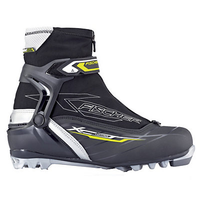 Fischer XC Control NNN Cross Country Ski Boots, Black-Grey, viewer