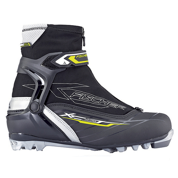 Fischer XC Control NNN Cross Country Ski Boots, Black-Grey, 600