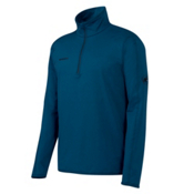 Mammut Snow Zip Long Sleeve Mens Mid Layer, Space, medium