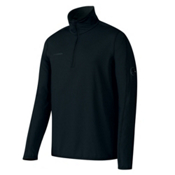 Mammut Snow Zip Long Sleeve Mens Mid Layer, Black, medium