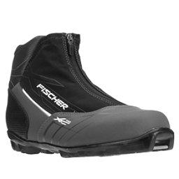 Fischer XC Pro NNN Cross Country Ski Boots, Silver, 256