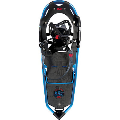 Atlas Aspect Backcountry Snowshoes, Ultra Blue-Red, viewer