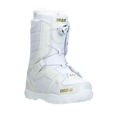 ThirtyTwo STW Boa Womens Snowboard Boots, White, viewer