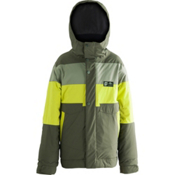 Orage Dub Boys Ski Jacket, Tarmac, medium