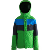 Orage Dub Boys Ski Jacket, Light Green, medium