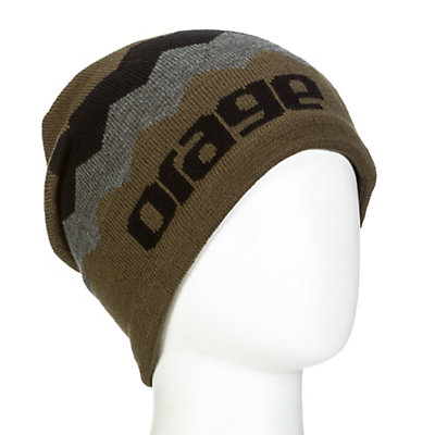 Orage Charlie Beanie Kids Hat, Black, viewer