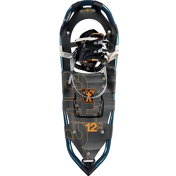 Atlas 12 Series Snowshoes, Marine Blue-Orange, 600